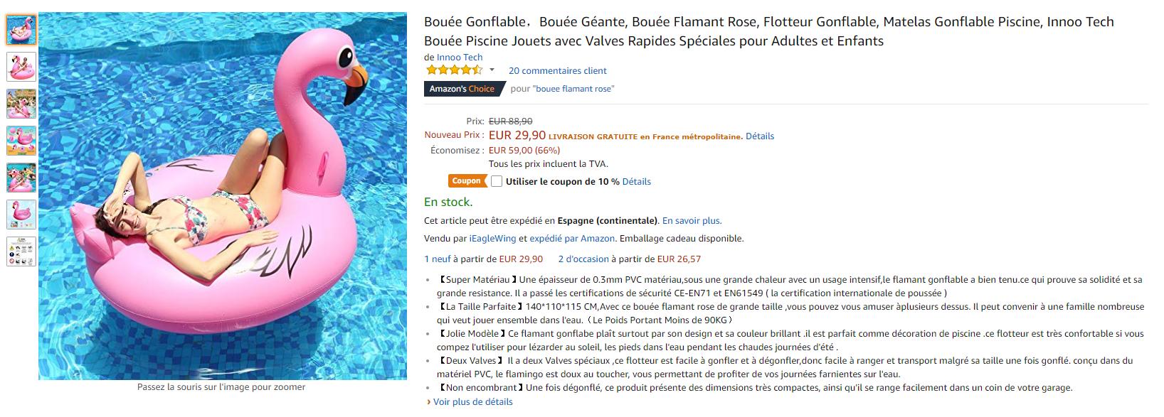 SEO Amazon Description Produit