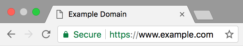 SSL Certificate Padlock