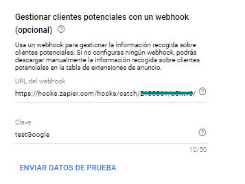 Webhook (opcional)